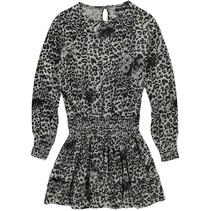 Jurk Darleen black leopard