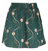 Franky & Liberty Frankie & Liberty rok Lora chain print forest green