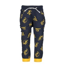Broek with bear aop mars yellow