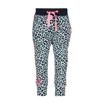 Broekje sweat with panther kiss aop