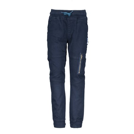 B.Nosy B.Nosy broek woven with pocket on left leg ink blue