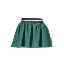 Rok pied de poule with fancy elastic emerald