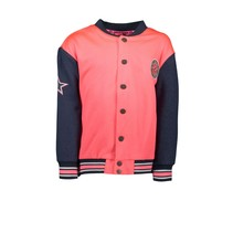 Jasje baseball long coral red
