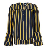 Indian Blue Jeans Indian Blue Jeans blouse flare striped