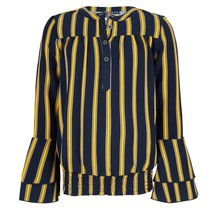 Blouse flare striped