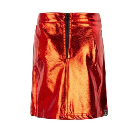 Indian Blue Jeans rok metallic risk red