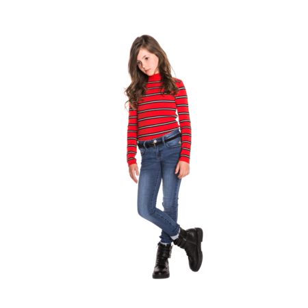 Indian Blue Jeans Indian Blue Jeans trui striped