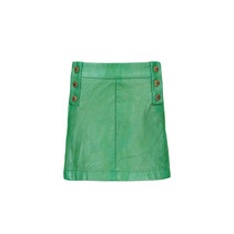 Rok imi leather green