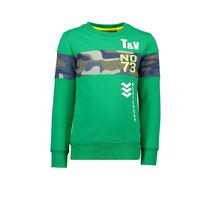 Trui TV No. 73 aop insert green