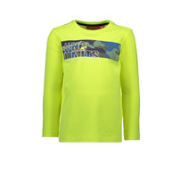 Longsleeve insert aop nu limits safety yellow