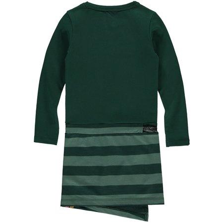 Quapi Quapi jurk Thana bottle green