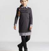 Quapi Quapi jurk Thamar dark grey