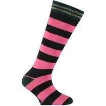 Kniekousen Teuni 3 pink stripe