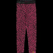 Legging Tilou bordeaux leopard