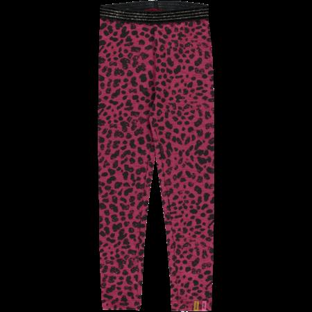 Quapi Quapi legging Tilou bordeaux leopard