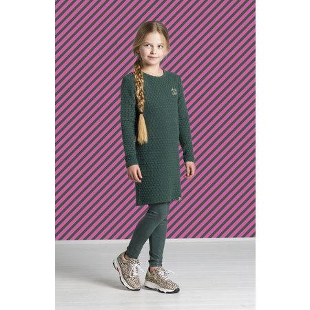 Quapi Quapi jurk Thalinda bottle green