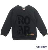 Sturdy Sturdy trui roarr concrete jungle zwart