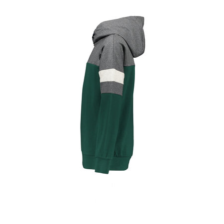 Bellaire Bellaire trui Bking grey melee colorblock hooded antracite