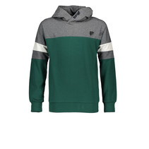 Trui Bking grey melee colorblock hooded antracite