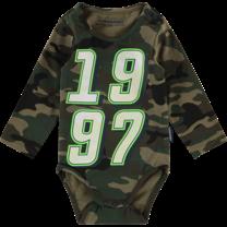 Romper Pijke mini camouflage green