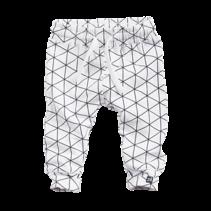 Broekje Snowberry white/grid