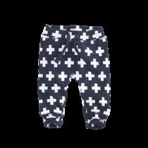 Broekje Callisto navy/white/crosses