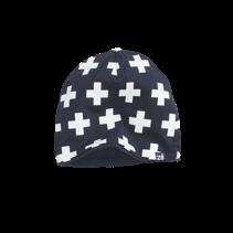 Mutsje Katje navy/white/crosses