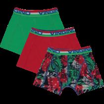 3-Pack boxers Italia basil green