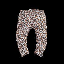 Legging Katja bright white/leopard/aop
