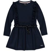 jurk Tarana dark navy lurex stripe