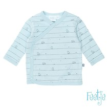 longsleeve overslag little one blauw