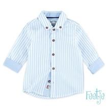 blouse streep Classic Boys blauw