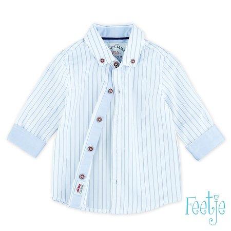 Feetje Feetje blouse streep Classic Boys blauw