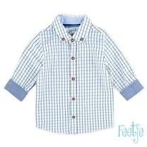 blouse ruit Classic Boys marine