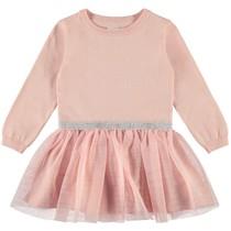 jurk Ralikka knit silver pink