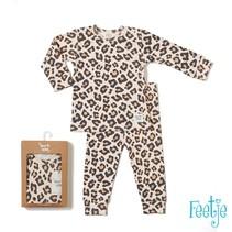 pyjama Leopard lux Perzik
