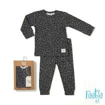 pyjama Panther Paul grijs melange