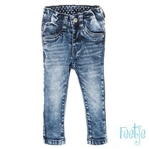 spijkerbroek Power stretched slim fit denimblue denim