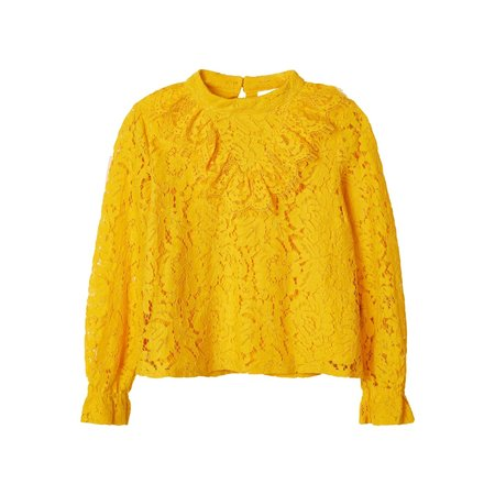 Name It Name It blouse Rainy old gold