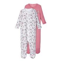 pyjama 2-pack heather rose flower