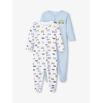 pyjama 2-pack cashmere blue aop
