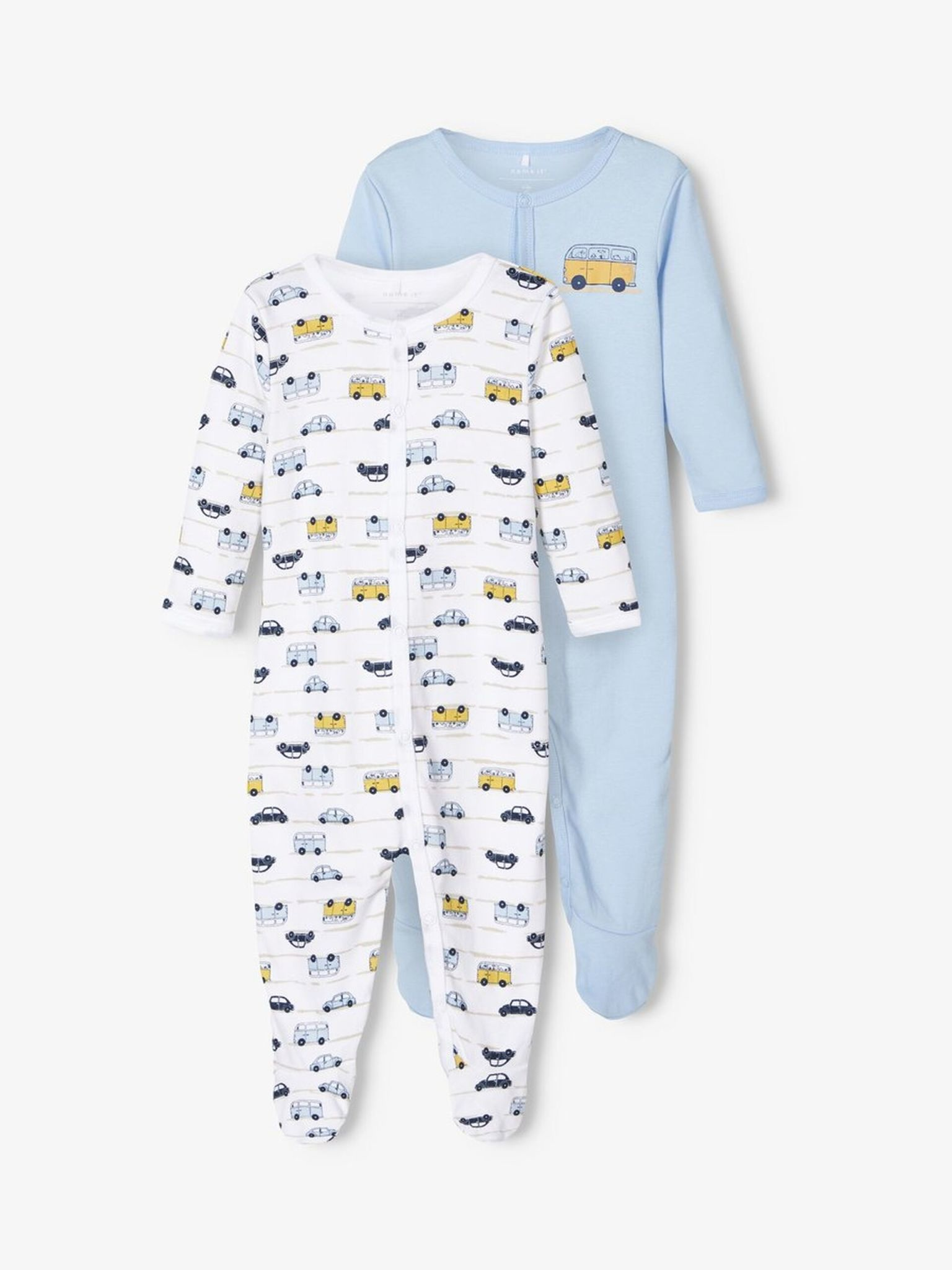 Name It Name It pyjama 2-pack cashmere blue aop