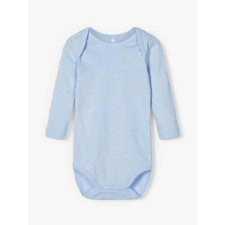 Name It Name It romper 3-pack lange mouw cashmere blue aop