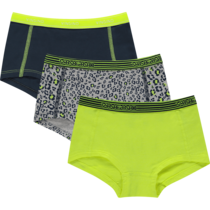 hipsters 3-pack leopardacid grey mele