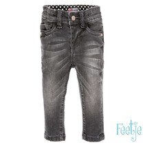 spijkerbroek power stretched slim fit denim antraciet