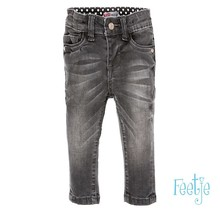 Feetje spijkerbroek power stretched slim fit denim antraciet