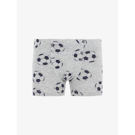 Name It Name It boxers 3-pack grey melange football