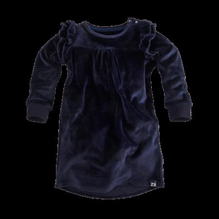 Z8 Z8 jurk Nadina velvet navy