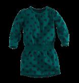 Z8 Z8 jurk Nienke bottle green/navy/dots
