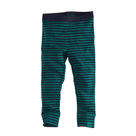Z8 Z8 legging Nanneke navy/bottle green/ stripes